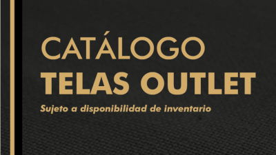 Catálogo OUTLET